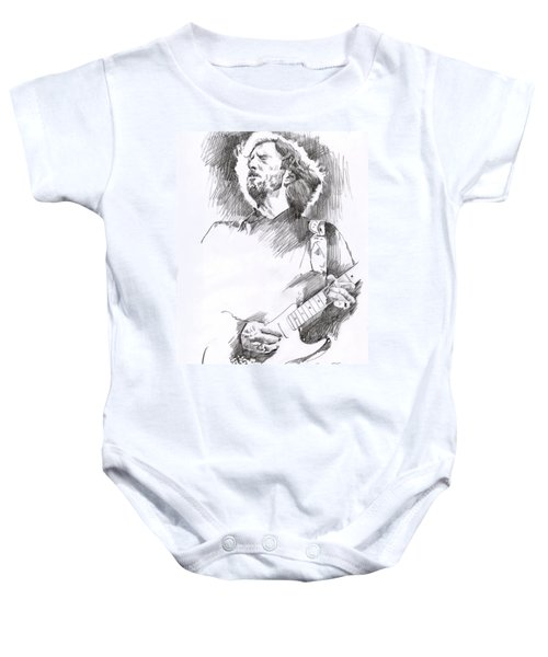 Eric Clapton Sustains Baby Onesie