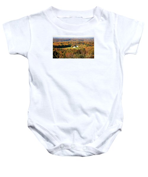 Baby Onesie featuring the photograph Erin Wisconsin  by Ricky L Jones