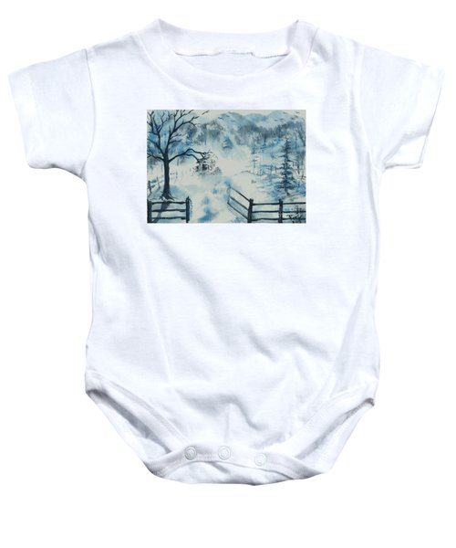 Ethereal Morning  Baby Onesie
