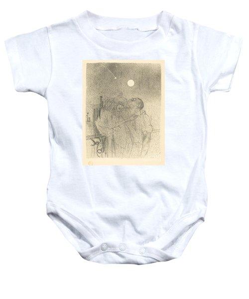 Etoiles Filantes Baby Onesie