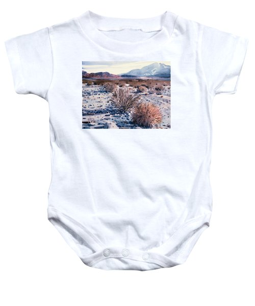 Evening In Death Valley Baby Onesie by Donald Maier