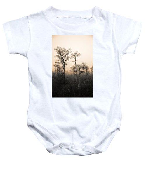 Everglades Cypress Stand Baby Onesie