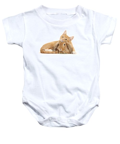 Everybody Needs A Bunny For A Pillow Baby Onesie