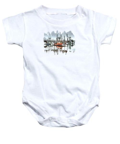 Evolution Baby Onesie