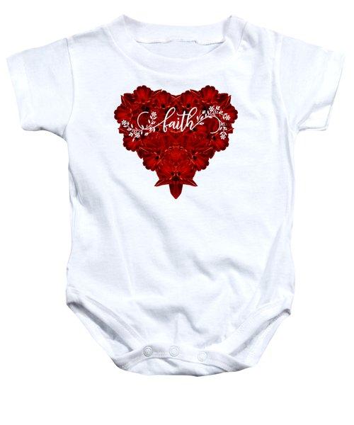 Faith Tee Baby Onesie