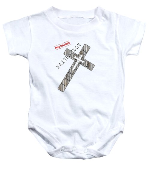 Faithfully Baby Onesie