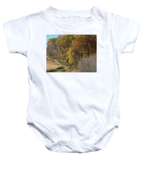 Fall Colors As Oil Baby Onesie
