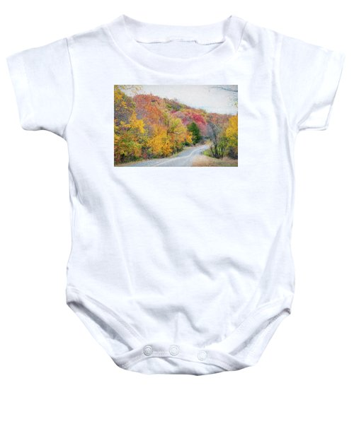 Fall In Southern Oklahoma Baby Onesie