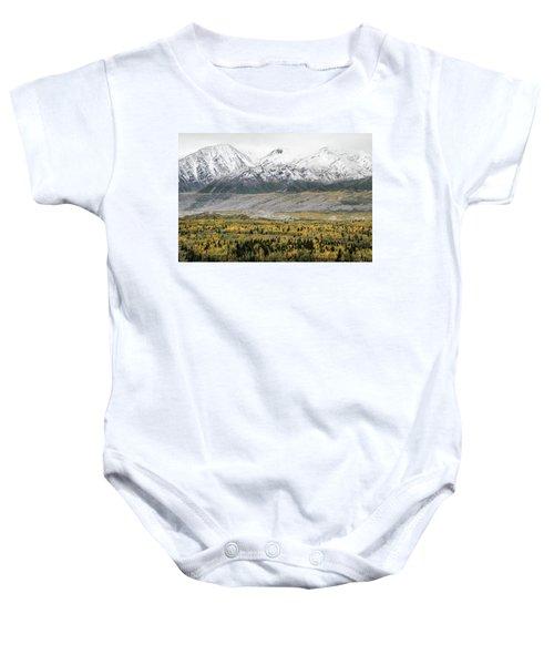 Fall In Wrangell - St. Elias Baby Onesie