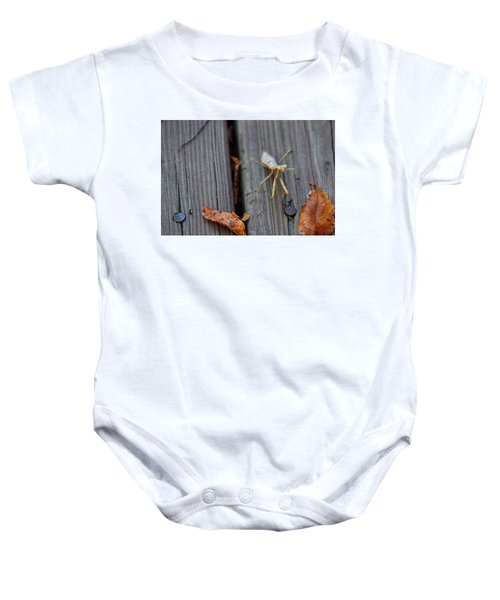 Fall Mantis  Baby Onesie