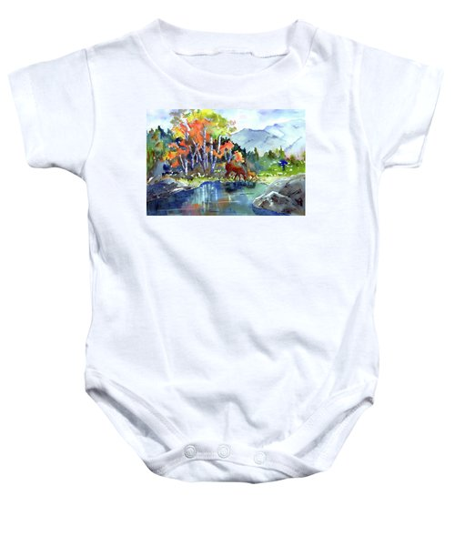 Fall, Upon Us Baby Onesie