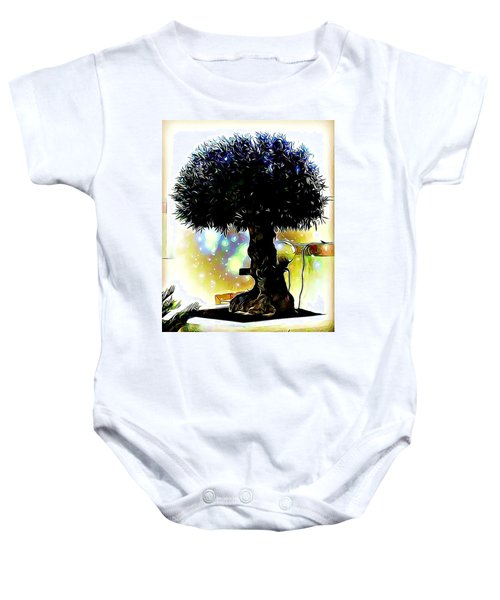 Fantasy World Baby Onesie