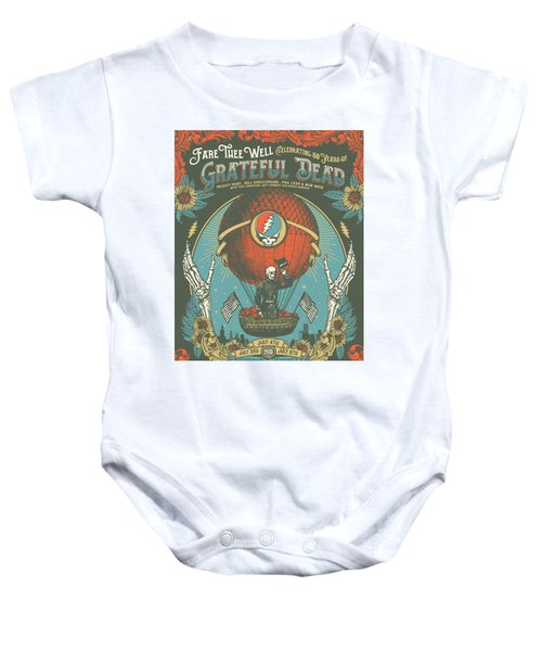 Fare Thee Well Baby Onesie by Gd