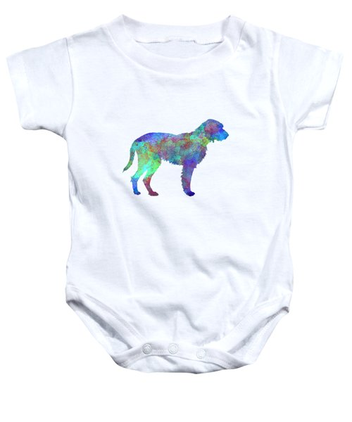 Fawn Brittany Griffon In Watercolor Baby Onesie by Pablo Romero