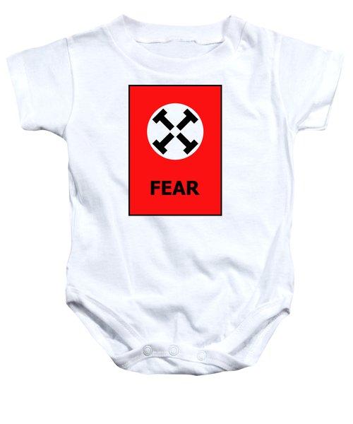 Fear Baby Onesie