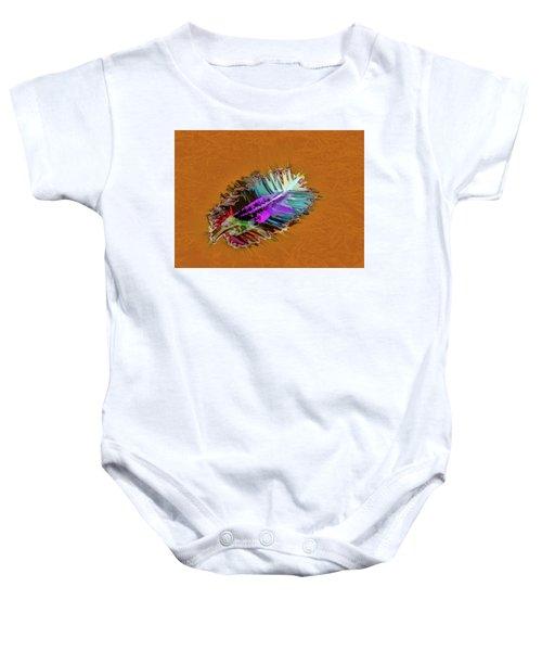 Feather #h8 Baby Onesie
