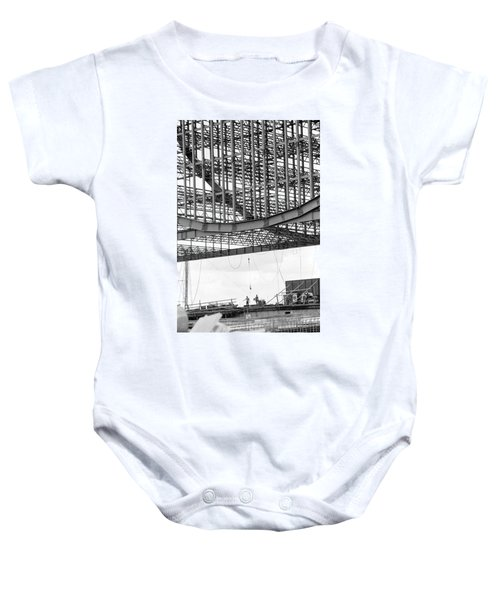 Federal Reserve Construction Baby Onesie