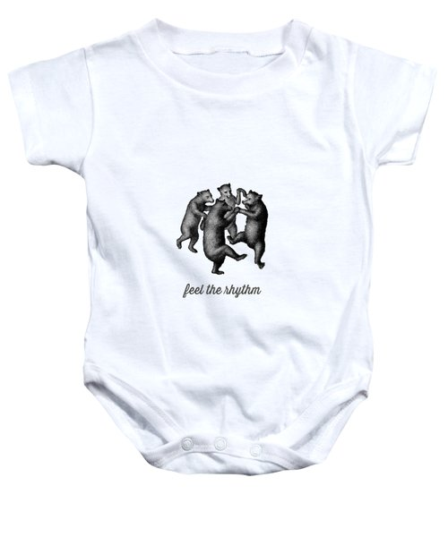 Feel The Rhythm Baby Onesie