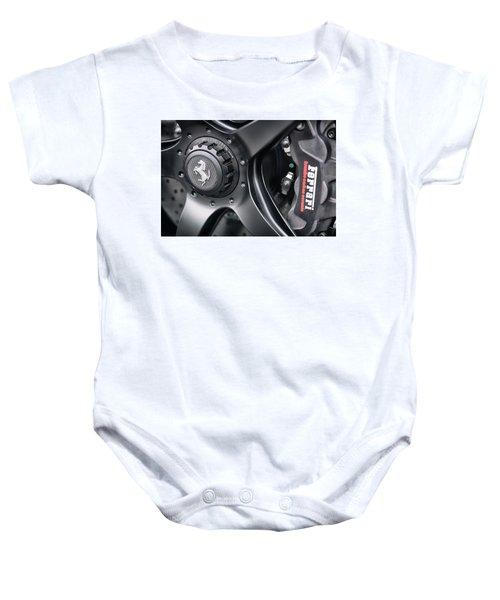 #ferrari #print Baby Onesie