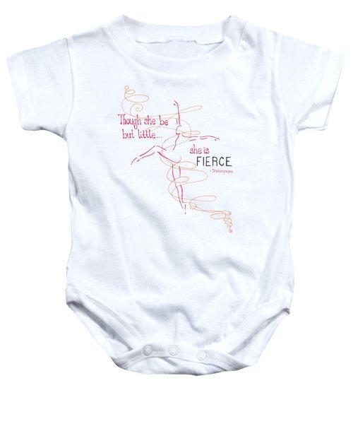 Fierce Baby Onesie