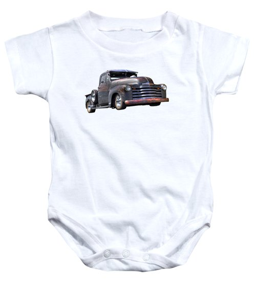 Fifties Rust - 1951 Chevy Baby Onesie