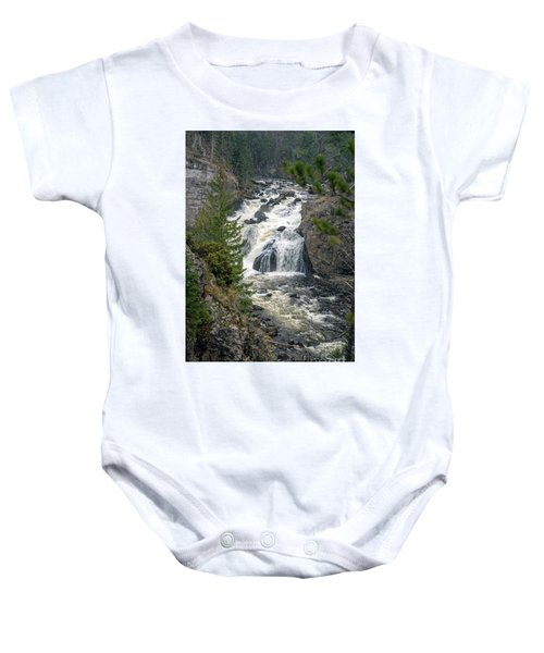 Firehole Falls Baby Onesie