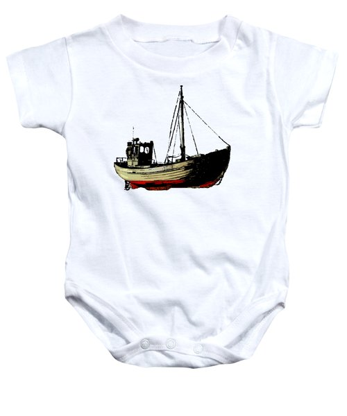 Fishing Boat Baby Onesie