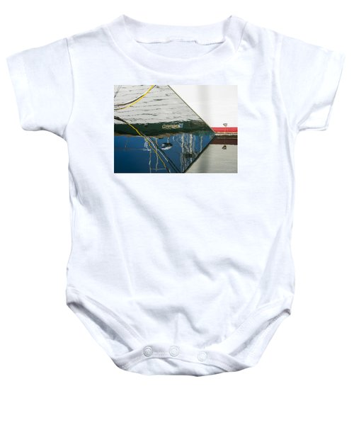 Fishing Boats Baby Onesie