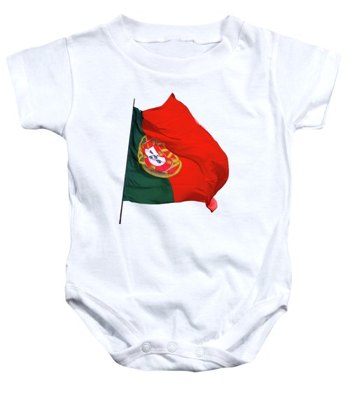 Flag Of Portugal Baby Onesie