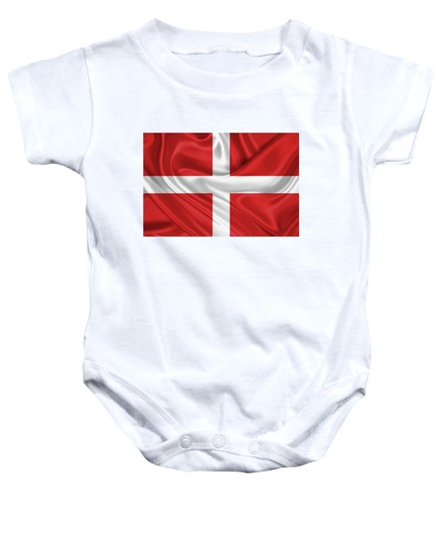 Flag Of The Sovereign Military Order Of Malta Baby Onesie