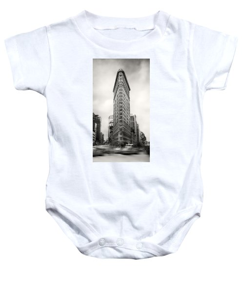 Flatiron District Rush Hour Baby Onesie