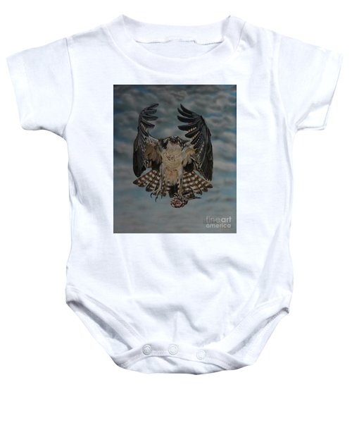 Fleck The Osprey  Baby Onesie