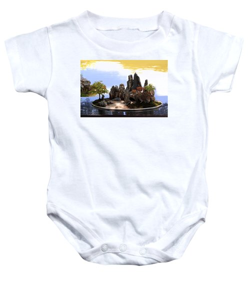 Floating Island Baby Onesie