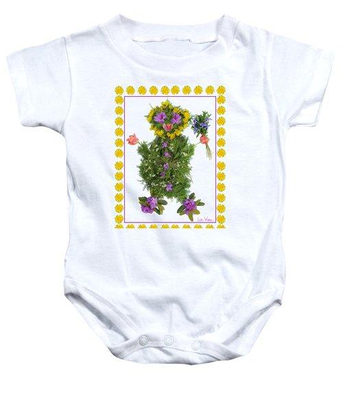 Flower Baby Baby Onesie