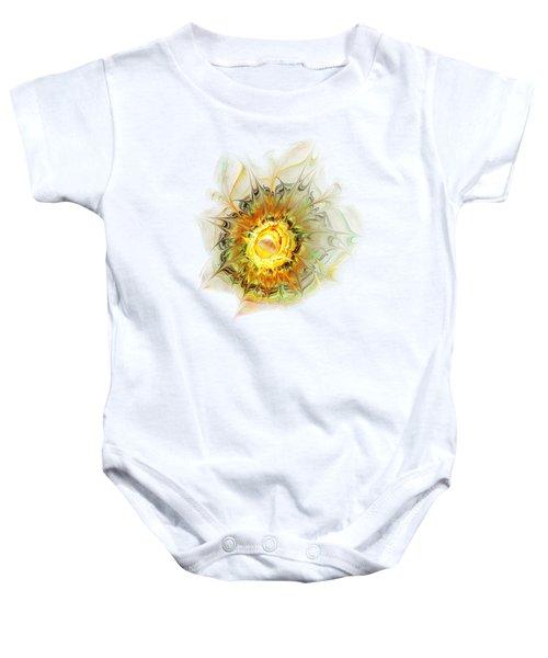 Flower Palette Baby Onesie