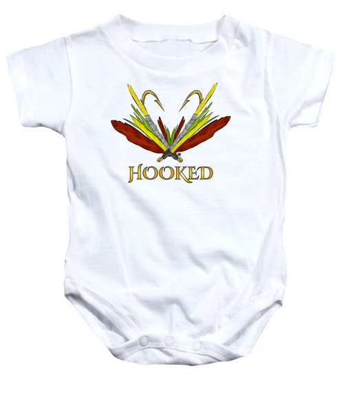 Fly Fishing Baby Onesie by Devon LeBoutillier