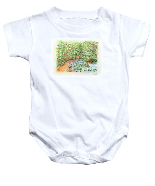 Footbridge Baby Onesie