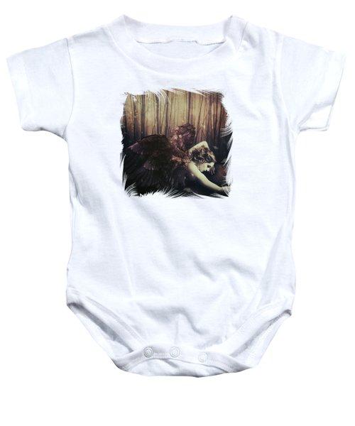Forest Angel Baby Onesie