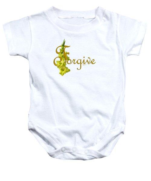 Forgive Baby Onesie