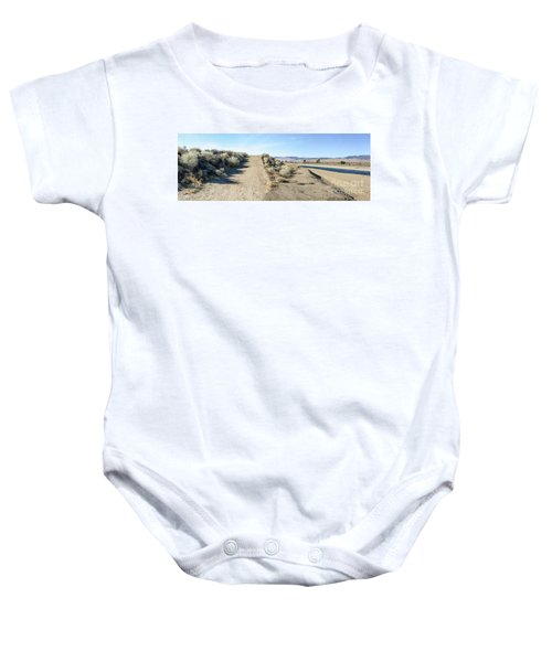 Fork In The Road Baby Onesie