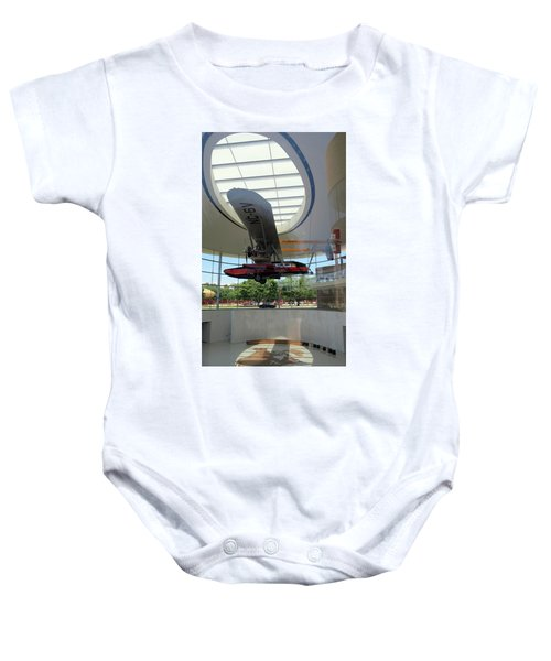 Baby Onesie featuring the photograph Fortaleza Hall, Spirit Of Carnauba by Mark Czerniec