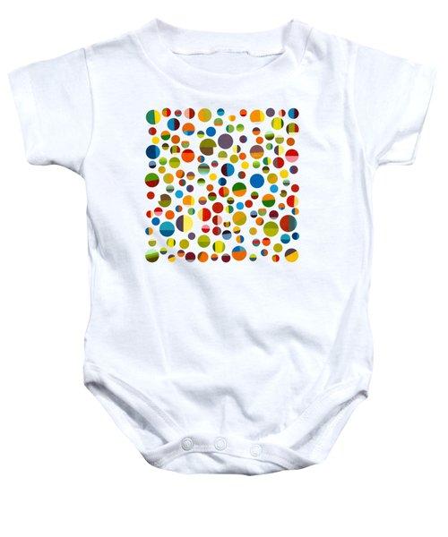Found My Marbles 3.0 Baby Onesie by Michelle Calkins