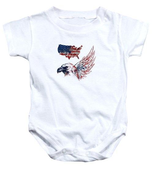 Fourth Of July Baby Onesie