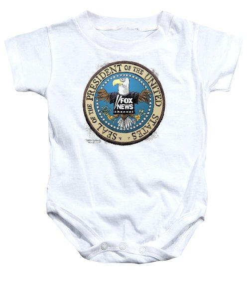 Fox News Presidential Seal Baby Onesie