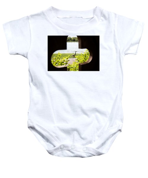 Framed Nature Baby Onesie