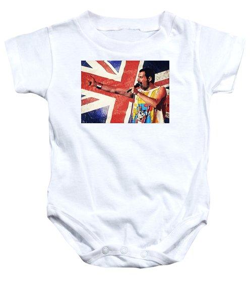 Freddie Mercury Baby Onesie