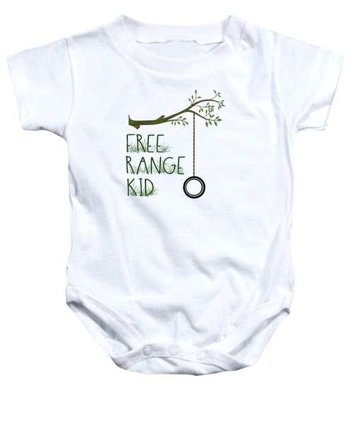 Free Range Kid Baby Onesie