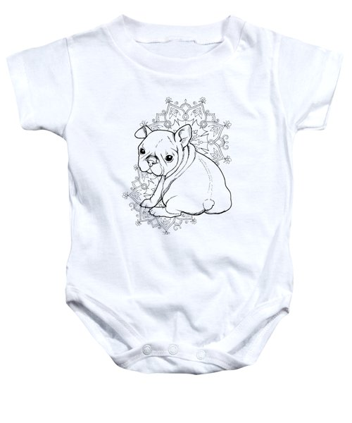 French Bulldog Puppy Baby Onesie