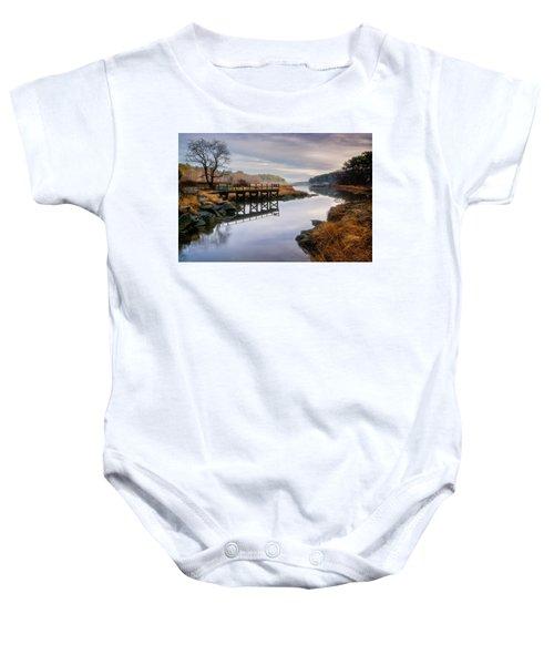 Frenchman's Pier Gloucester Baby Onesie
