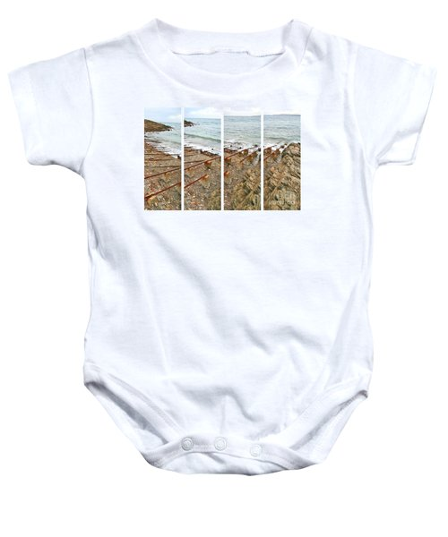 Baby Onesie featuring the photograph From Ship To Shore by Stephen Mitchell